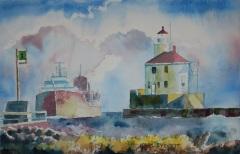 EverettK-202106-Ore-Freighter-@-Superior-Entry-Lighthouse-2021_06_15_0464-2-s