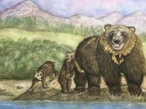 MillerM-202103-Katmai-Bears-watercolor-16-x-20-350