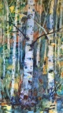 RauschenfelsS-202001-Birches-at-Dawn-24x18-matted-and-framed-Sold