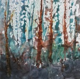 RauschenfelsS-202004-Peaceful-Forest-12x12-mounted-on-cradled-board-1.5-depth-125